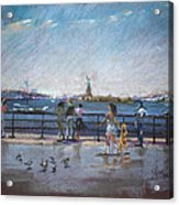 Nyc Grand Ferry Park 2 Acrylic Print