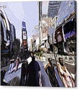 Nyc Impression Acrylic Print