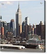 Nyc In The Afternoon Acrylic Print
