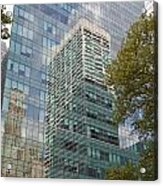 Nyc Reflection 1 Acrylic Print