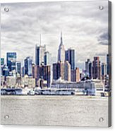 Nyc Skyline 2 Acrylic Print
