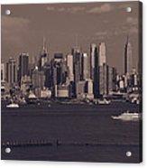 Nyc Skyline Acrylic Print