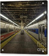 Nyc Subway Acrylic Print