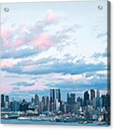 Nyc Sundown Blue II Acrylic Print
