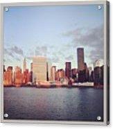 Nyc Sunrise Acrylic Print