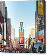 Nyc Times Square Acrylic Print