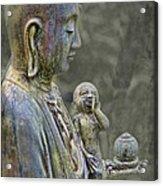 O-jizo-sama  Acrylic Print by Karen Walzer