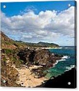 Oahu Coastal Getaway Acrylic Print
