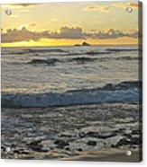 Oahu Morning 6835 Acrylic Print