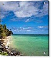 Oahu Solace Acrylic Print