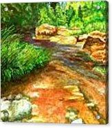 Oak Creek Red Acrylic Print