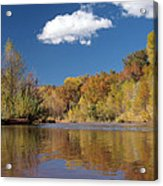 Oak Creek Reflection Acrylic Print