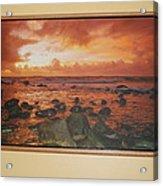 Oak Floater Frame Acrylic Print