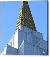 Oakland California Temple . The Church Of Jesus Christ Of Latter-day Saints . 7d11358 Acrylic Print
