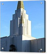 Oakland California Temple . The Church Of Jesus Christ Of Latter-day Saints . 7d11377 Acrylic Print