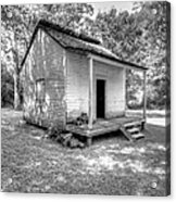 Oakley Plantation Slaves Quarters Acrylic Print