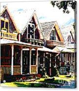 Oaks Bluff Martha's Vineyard Acrylic Print