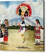 Oaxaca Dancers Acrylic Print