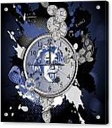 Obsession With Time Acrylic Print