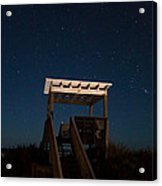 Obx Night Sky Acrylic Print