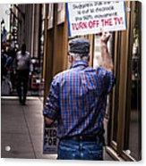 Occupy Chicago V Acrylic Print