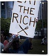Occupy Chicago Vii Acrylic Print