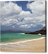 Ocean And Sky Of Makena Beach Acrylic Print