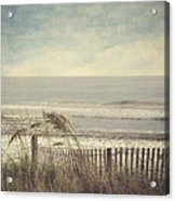 Ocean Breeze Acrylic Print by Kathy Jennings