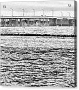 Ocean City Bridge Acrylic Print