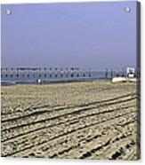 Ocean City Nj The Old Pier Acrylic Print
