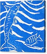 Ocean Fun Acrylic Print by Marita McVeigh