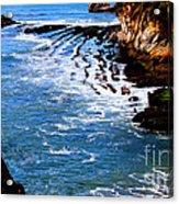 Ocean Lines Acrylic Print