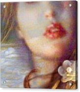 Ocean Pearls Acrylic Print