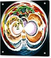 Oceana Orb Acrylic Print