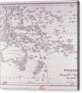 Oceania (australia, Polynesia, And Malaysia) Acrylic Print by Fototeca Storica Nazionale
