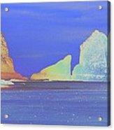 Oceanside Rocks Acrylic Print