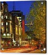Oconnell Street Bridge, Dublin, Co Acrylic Print