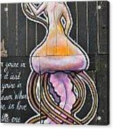 Octo-woman Acrylic Print
