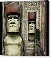 Odd Man Out Acrylic Print by Suni Roveto