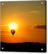 Off Into The Sunset Acrylic Print
