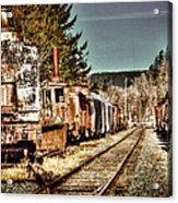 Off Track II Acrylic Print