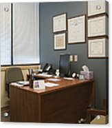Office Space Acrylic Print
