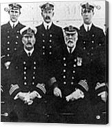 Officers Of The Titanic, 1912 Acrylic Print