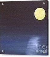 Offset Moon Acrylic Print by Alys Caviness-Gober