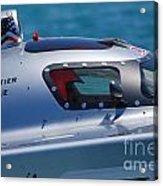 Offshore Racer Cockpit Acrylic Print