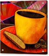 Ohhh.. Coffee Acrylic Print by Melisa Meyers