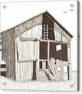 Ohio Barn Acrylic Print by Pat Price