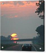 Ohio Sunrise Acrylic Print