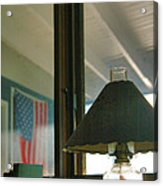 Oil Lamp And Porch Acrylic Print