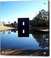 Oklahoma City Memorial Acrylic Print